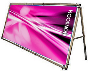 Outdoor Vinyl Promotional Banners